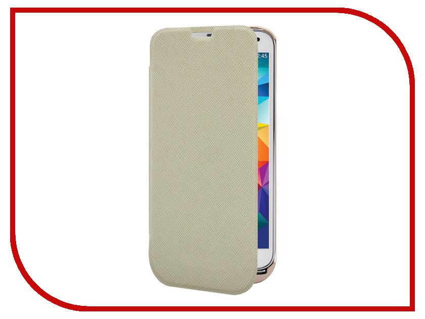 Аксессуар Чехол-аккумулятор Samsung Galaxy S5 InterStep 2800 mAh Gold IS-AK-PCS5FLPBK-000B201<br>
