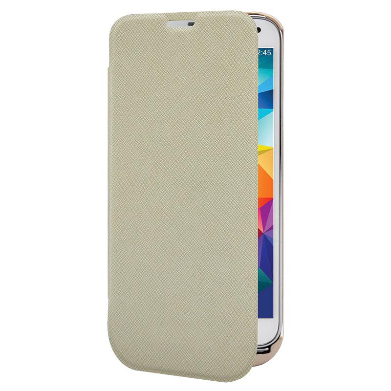 Аксессуар Чехол-аккумулятор Samsung Galaxy S5 InterStep 2800 mAh Gold IS-AK-PCS5FLPBK-000B201