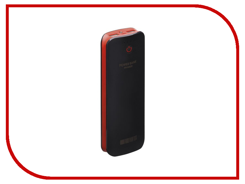 Аккумулятор InterStep PB16800 Black-Red 16800 mAh<br>