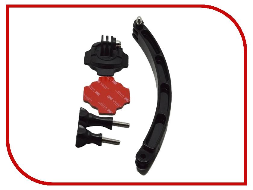 Аксессуар Lumiix GP257 для GoPro 4/3/2/1 выносное крепление на шлем