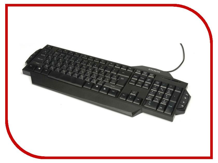 Клавиатура Zalman ZM-K350M Black USB<br>
