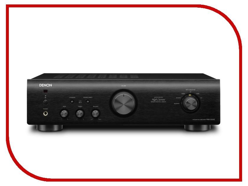 цена Усилитель Denon PMA-520AE Black