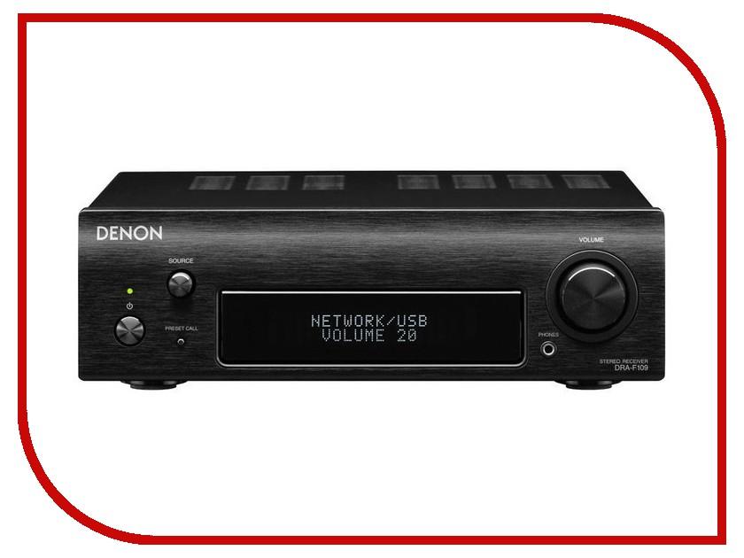 Усилитель Denon DRA-F109 Black