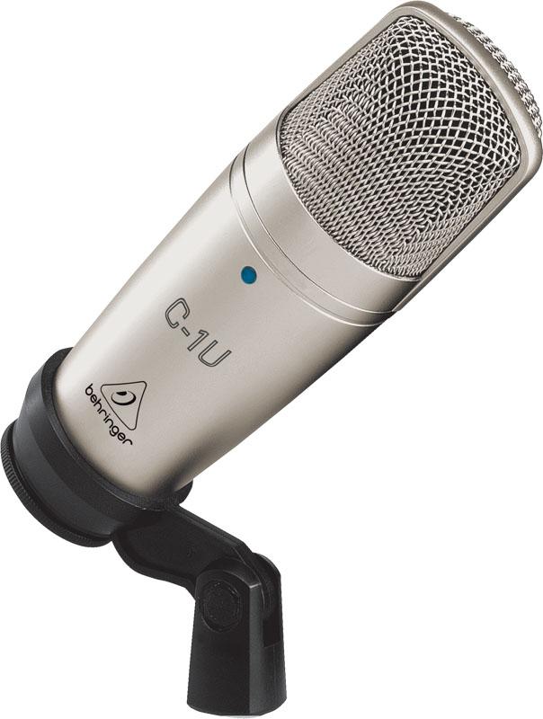Микрофон Behringer C-1U фальшпанель заглушка 19 1u серая nt fpanel 1u g