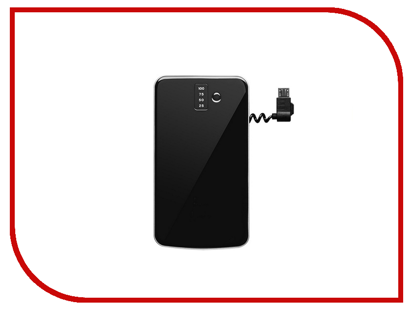 Аккумулятор InterStep PB4000 4000 mAh IS-AK-PB4000UBK-000B201