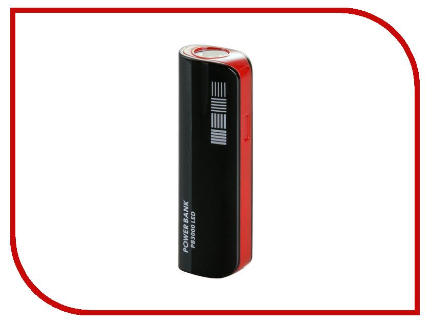 Аккумулятор InterStep PB3000 LED 3000 mAh