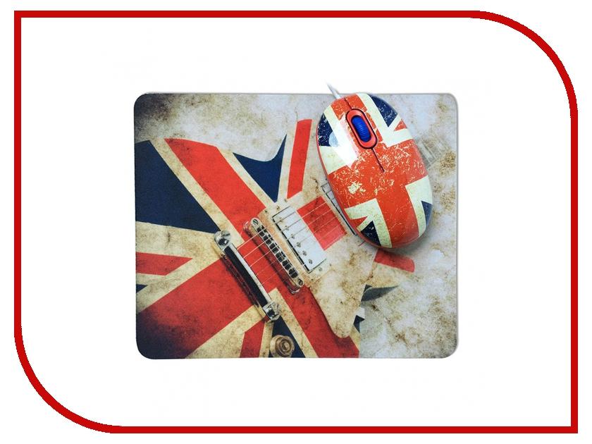 Мышь CBR Guitar Hero USB + коврик guitar hero world tour купить pc