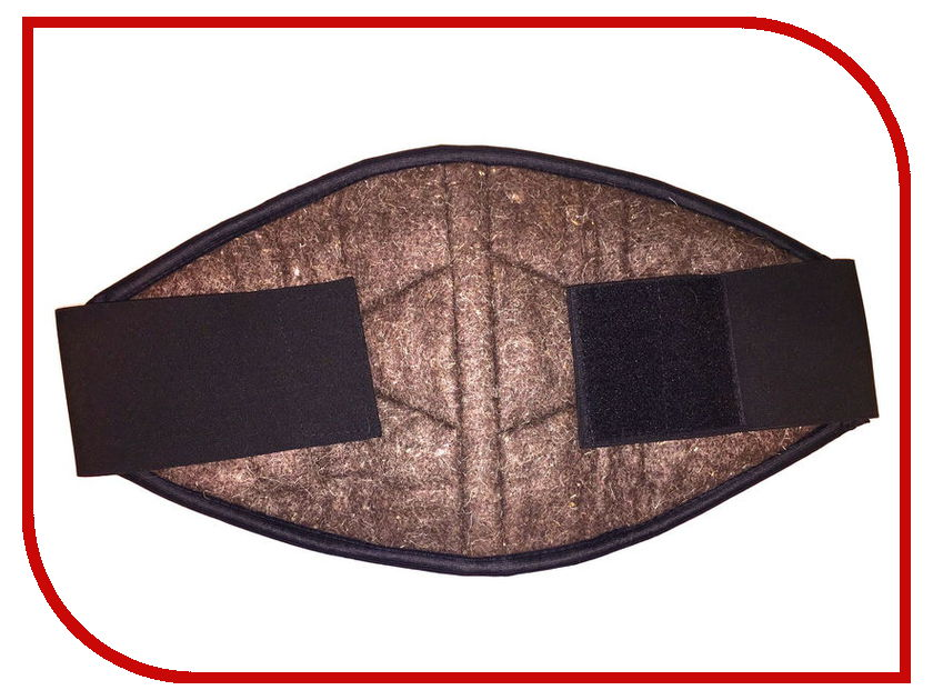 Ортопедическое изделие Azovmed - пояс, собачья шерсть р.52-54-56 Black ортопедическое изделие azovmed пояс собачья шерсть р 52 54 56