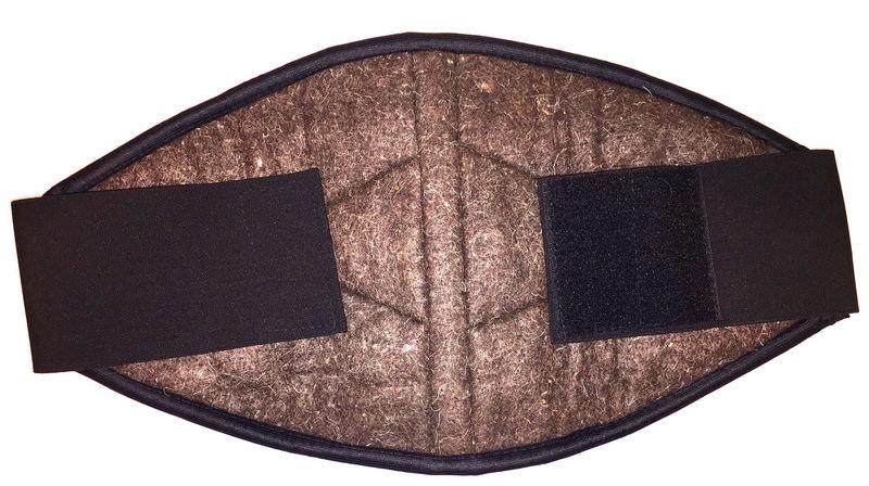 Ортопедическое изделие Azovmed - пояс, собачья шерсть р.52-54-56 Black