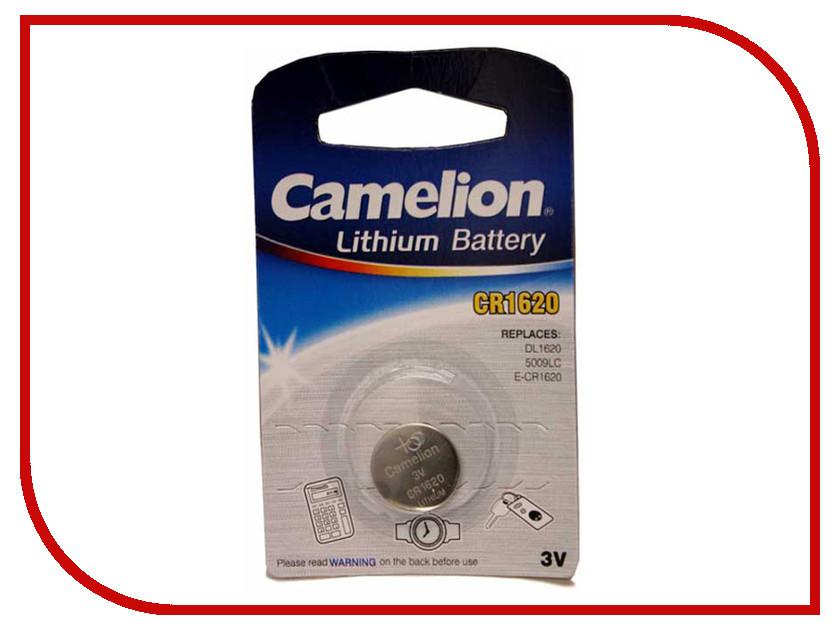 Батарейка CR1620 - Camelion CR1620-BP1 (1 штука)