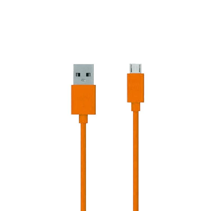 Аксессуар ZAKKA Fabric USB 2.0 - Micro USB 1m ONN2-L6OR-001 Orange