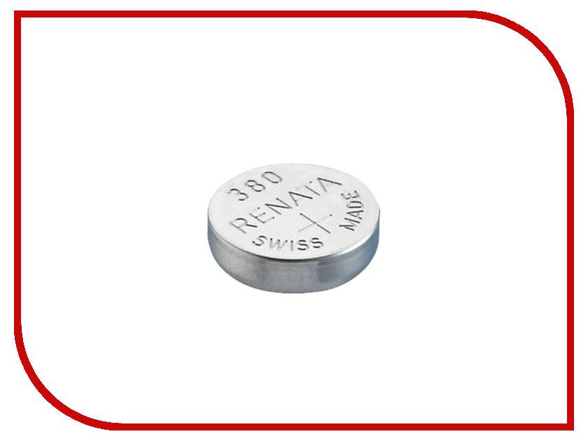 Батарейка R380 - Renata SR936W (1 штука) батарейка rexant lr45 ag9 lr936 g9 194 gp94a 394 sr936w 30 1032 2 штуки