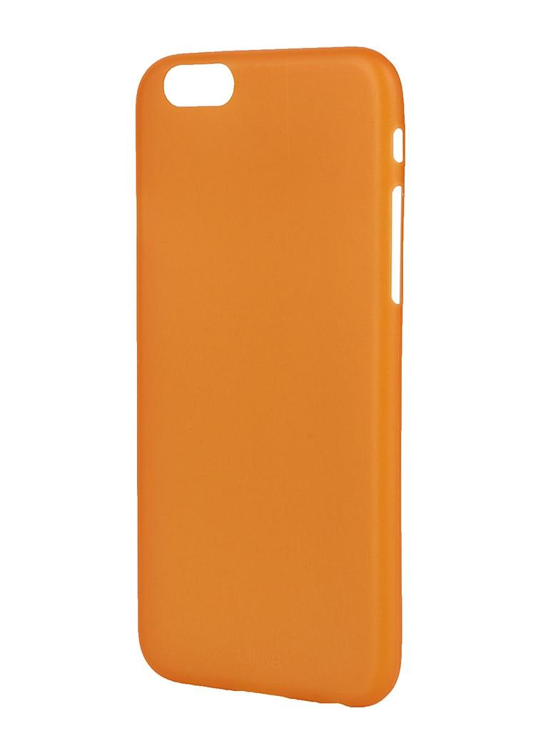 Аксессуар Чехол-накладка ZAKKA Ultra Slim IPhone 6 Orange