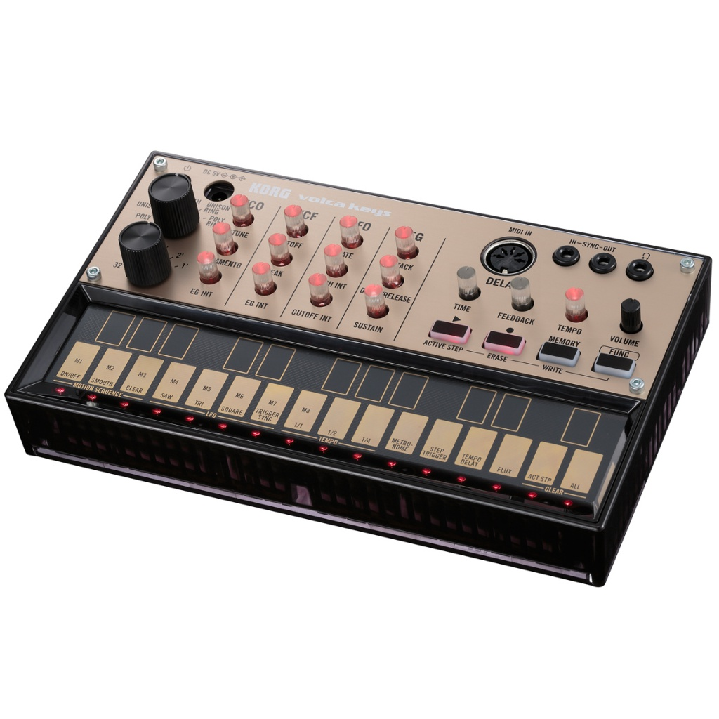 Синтезатор KORG Volca Keys korg volca bass analog bass machine electribe inspired sequencer for the ultimate bass lines
