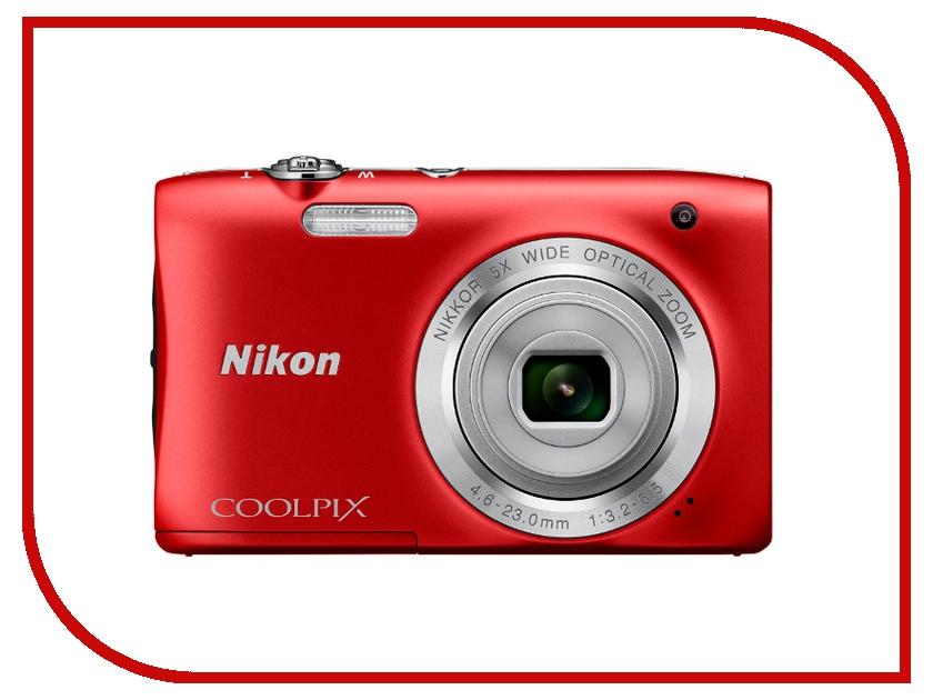 Фотоаппарат Nikon S2900 Coolpix Red<br>