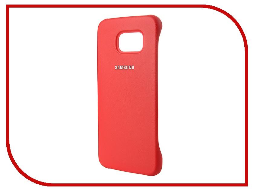 Аксессуар Чехол-накладка Samsung SM-G920 Galaxy S6 Protective Cover Coral EF-YG920BPEGRU<br>