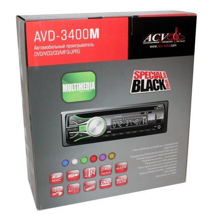 Автомагнитола ACV AVD-3400M<br>