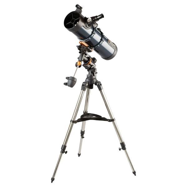 Телескоп Celestron AstroMaster 130 EQ 31045 телескоп celestron astromaster 90 az синий серебристый