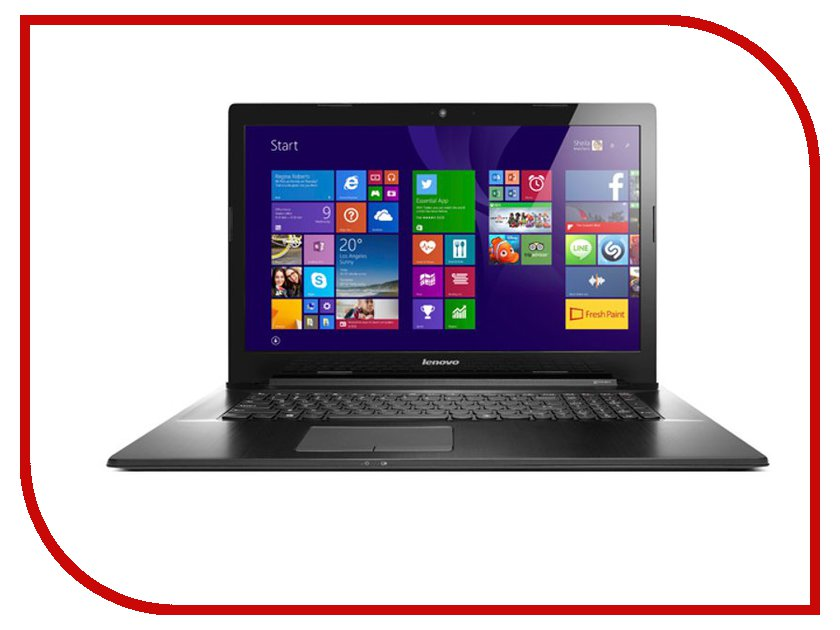 Ноутбук Lenovo IdeaPad G7070 80HW006URK (Intel Pentium 3558U 1.7 GHz/4096Mb/500Gb/DVD-RW/Intel HD Graphics/Wi-Fi/Cam/17.3/1600x900/Windows 8.1 64-bit)