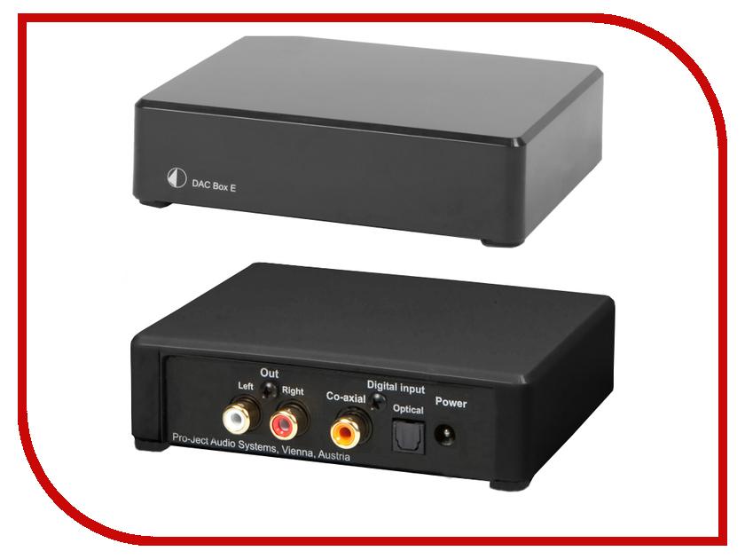 ЦАП Pro-Ject DAC BOX E Black