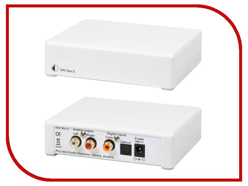 ЦАП Pro-Ject DAC BOX E White