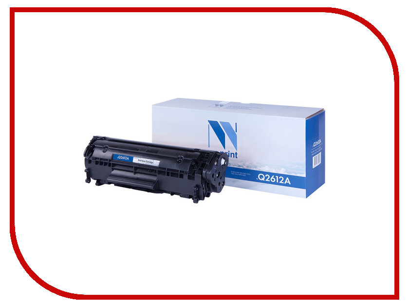 Картридж NV Print Q2612A для LJ 1010/1012/1015/1020/1022/3015/3020/3030 2pcs alzenit oem new for hp 1010 1012 1015 1020 3015 3020 3030 charge roller q2612a printer parts