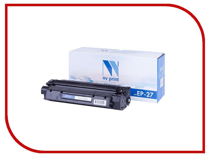 Картридж NV Print EP-27 для LBP 3200/MF5630/5650/3110/5730/5750/5770 zea afs011 600tvl hd cctv surveillance camera w 36 ir led white pal