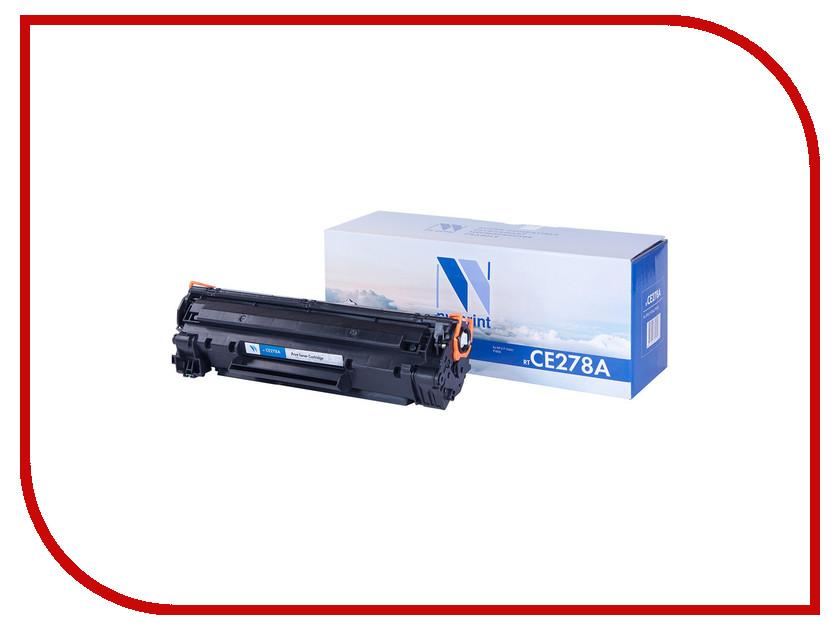Картридж NV Print CE278A для LJ P1566/P1606 2100k<br>