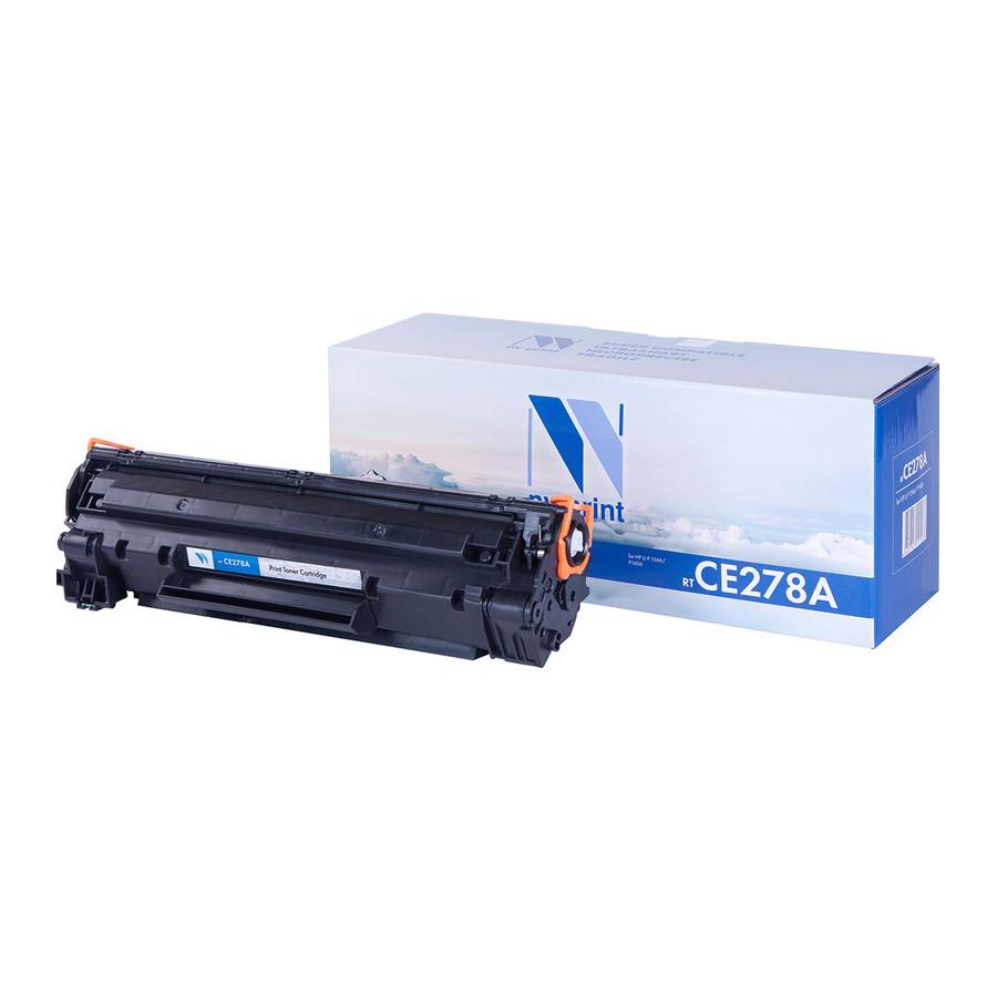Картридж NV Print CE278A для LJ P1566/P1606 2100k