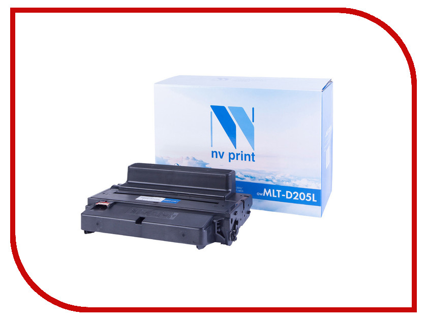 Картридж NV Print MLT-D205L для ML-3310/3710/SCX-5637/4833 картридж nv print samsung mlt d111s для xpress m2020 m2020w m2070 m2070w m2070fw 1000k