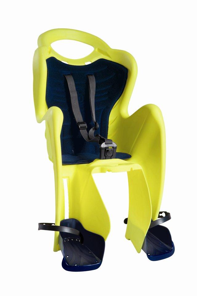 Велокресло Bellelli Mr Fox Standard Hi-Viz Reflective-Yellow 80182<br>