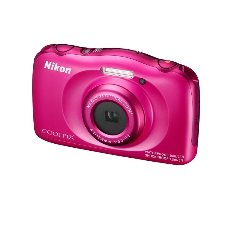 Фотоаппарат Nikon S33 Coolpix Pink