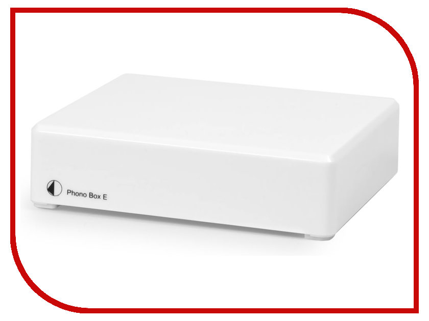 Фонокорректор Pro-Ject MM PHONO BOX E White