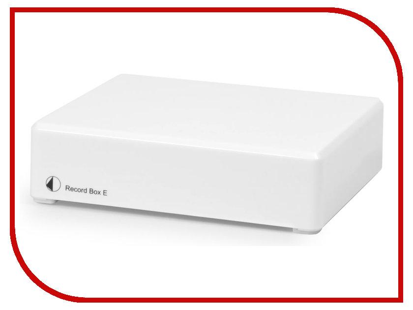 Усилитель Pro-Ject MM/MC RECORD BOX E White
