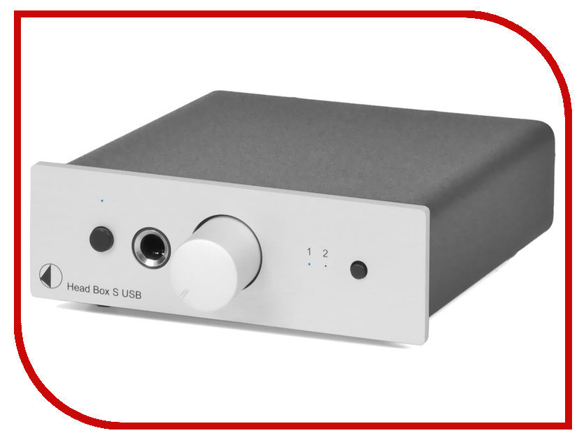 Усилитель Pro-Ject HEAD BOX S USB Silver pro ject power box s 6 way