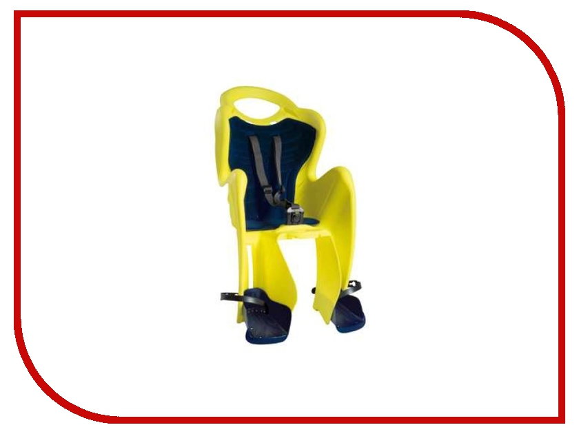 Велокресло Bellelli Mr Fox Clamp Hi-Viz Reflective-Yellow 80152<br>