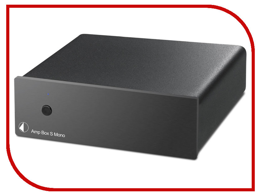 Усилитель Pro-Ject AMP BOX S MONO Black pro ject power box s 6 way