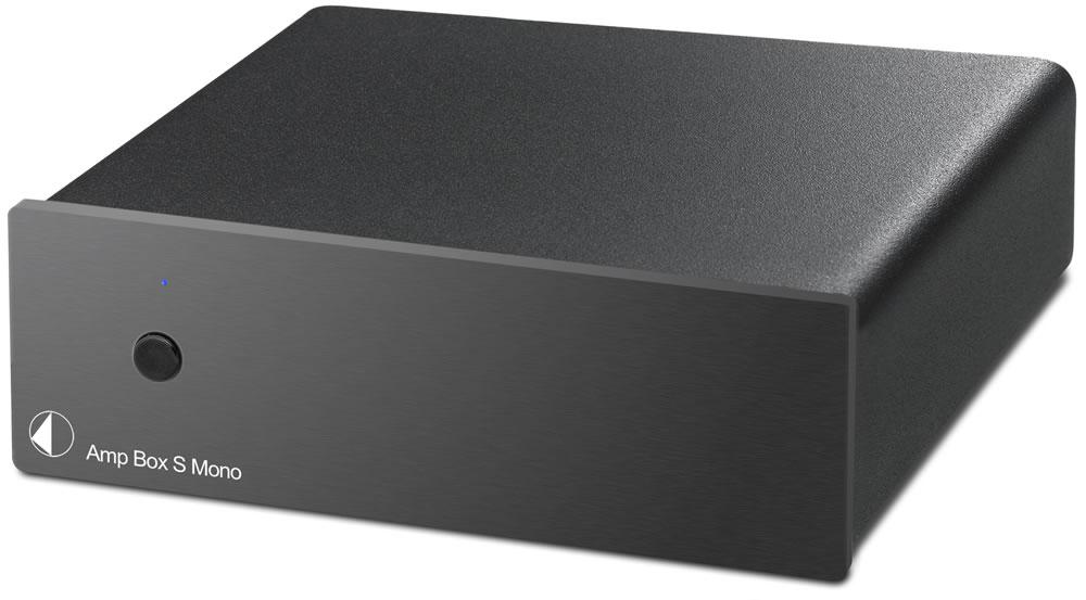 Усилитель Pro-Ject AMP BOX S MONO Black 2418 aluminum preamplifier enclosure amplifier chassis amp box
