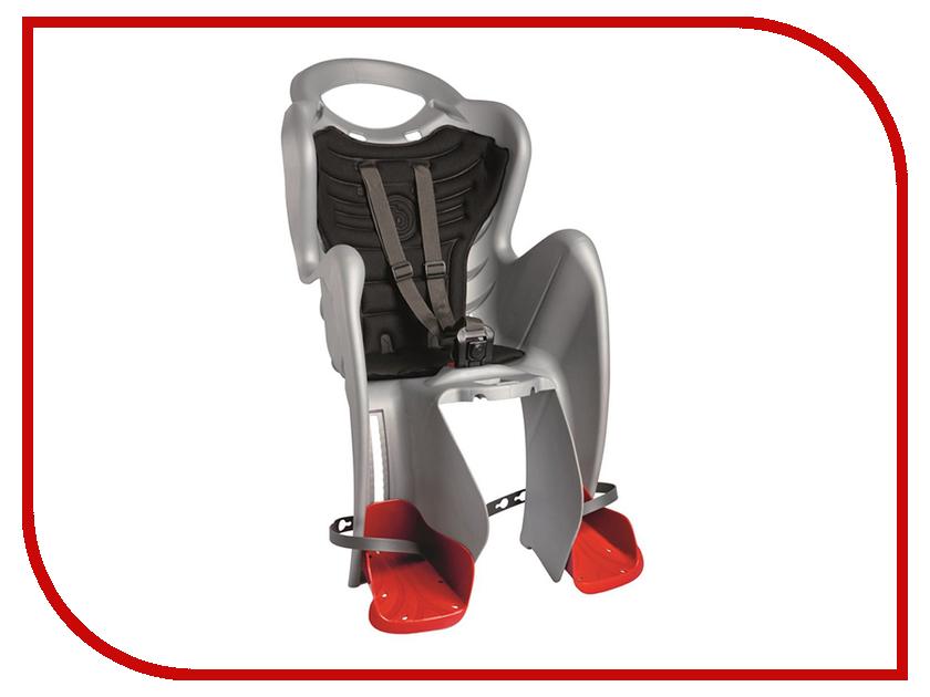 Велокресло Bellelli Mr Fox Clamp Silver 80069