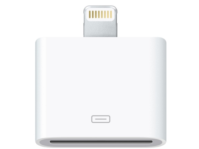 Аксессуар Henca 30-pin to Lightning для iPhone / iPad White 10654