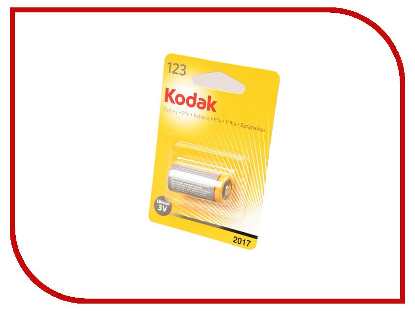 Батарейка CR123 - Kodak CR123A 3V BL1 (1 штука)<br>
