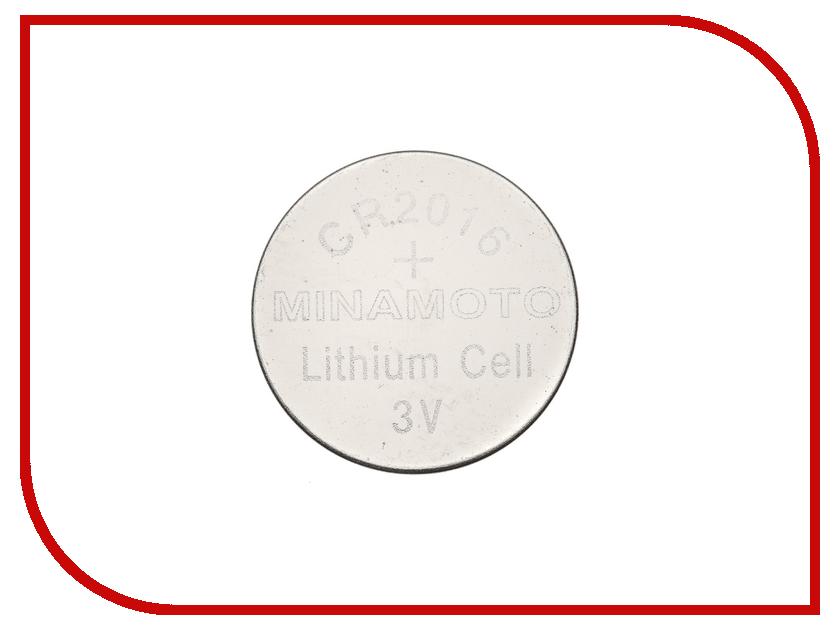 Батарейка CR2016 - MINAMOTO CR2016 3V (1 штука)