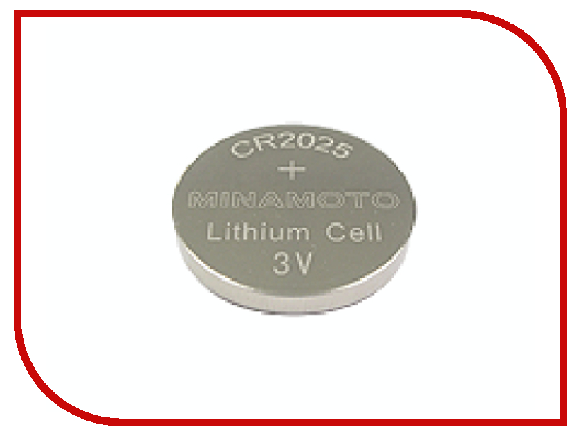 Батарейка CR2025 - MINAMOTO CR2025 3V (1 штука)