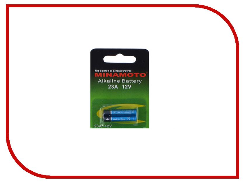 Батарейка 23A - MINAMOTO 23A 12V (1 штука) батарейка d minamoto 1 5v r20 sr2 2 штуки
