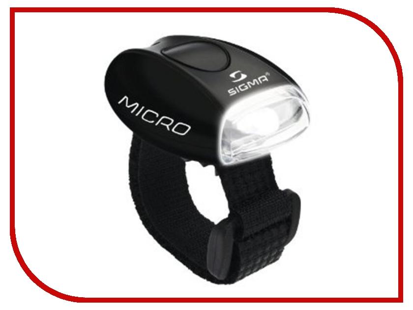 Велофонарь Sigma Micro Black-White 17241