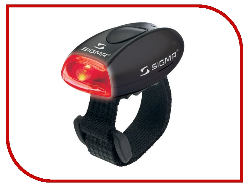 Велофонарь Sigma Micro Black-Red 17235
