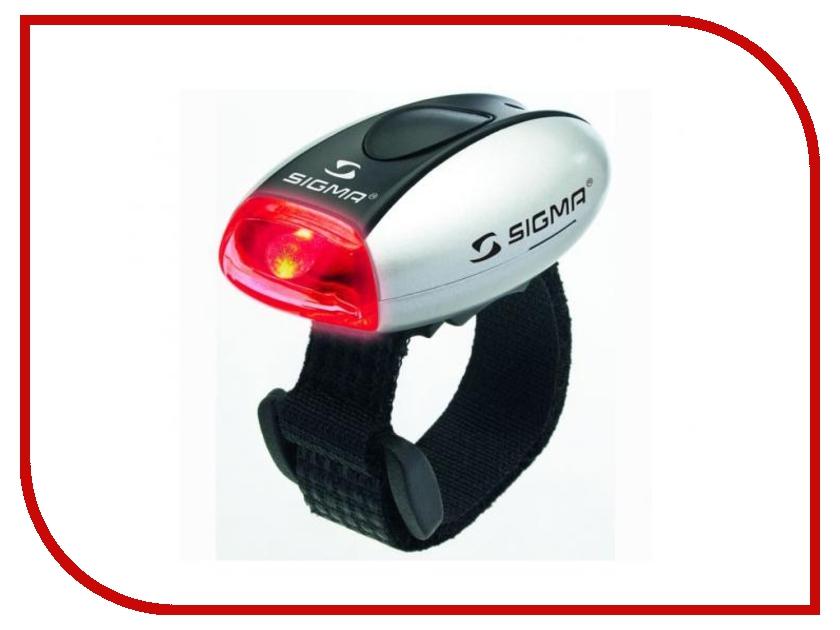 Велофонарь Sigma Micro Silver-Red - фонарь 17234