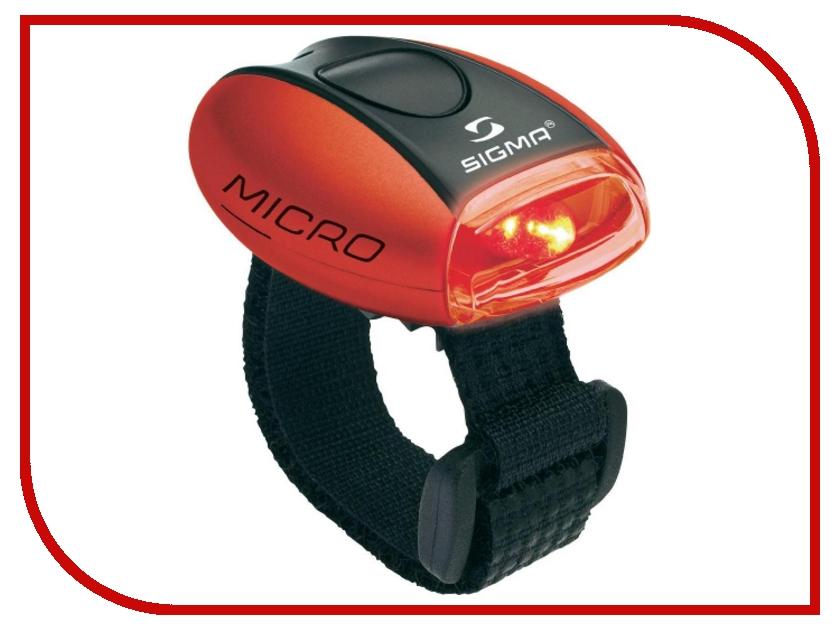 Велофонарь Sigma Micro Red-Red - фонарь 17231