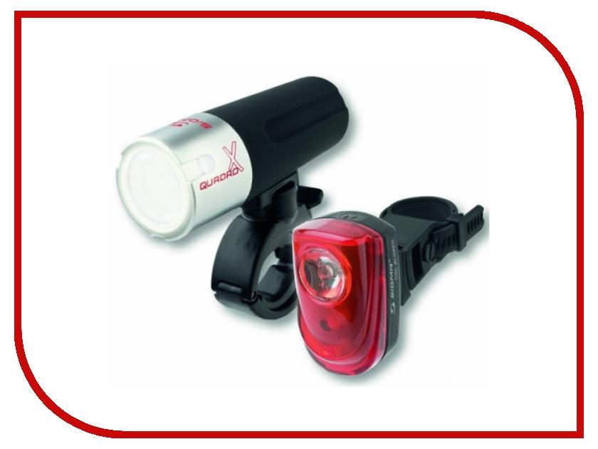 Велофонарь Sigma Tailblazer-Quadro x - задний + передний 13013