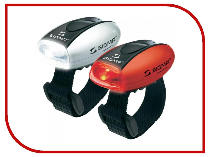 Аксессуар Sigma Micro фара - передняя + задняя White-White - Red-Red 17243